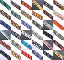 """Natural Gemstone Round Spacer Beads 16"""" 4MM 6MM 8MM 10MM 12MM Jewelry Design"""