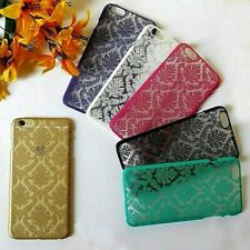 """Vintage Damask Transparent Hard Cover Shell Case For iPhone 6/6s PLUS (5.5"""")"""