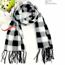 Fashion Women's Winter Neck Warm Long Checked Plaid Scarf Wrap Shawl Stole