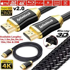 40M 45M 50M Male To Male HD TV Coaxial Digital Aerial Antenna Cable Coax Lead UK