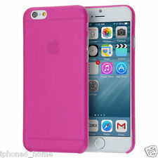 Transparent Rose Matte Frosted Ultra Thin 0.3mm Case For Apple iPhone 6/6s Plus