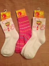 NWT Gymboree Bubble Fun Bubble Girl or Striped Socks Sz Small 3 Yrs or Med Large