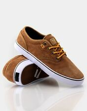 Globe Shoes Motley Golden Brown Suede FREE POST New Skateboard Sneakers