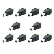 5Pcs DC 12V Power Plug Adapter Connector M/F For 5050 3528 LED Strip Power Tool