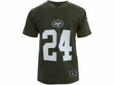 New York Jets NFL Team Apparel Darrelle Revis Kids Performance Tee New