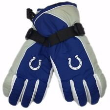 Indianapolis Colts NFL Reebok Winter Mens Snow Gloves W/Palm Grip NWT Medium