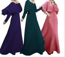Women Outfits Maxi Muslim Abaya Dress Islamic Abaya Middle East Kaftan Clothes
