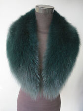 Genuine fox fur collar /wrap /scarf green/ violet 2015 new style women's collar