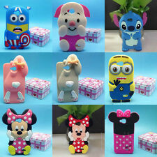 3D Disney Cartoon Silicone Soft Back Case Cover For LG Optimus L90 & D410