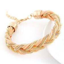 New Hot Selling Jewelry metal winding bracelet with a rope  Bracelets For Women