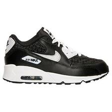 NIKE AIR MAX 90 PREMIUM MESH (PS) 724883 101 WHITE/REFLECT SILVER-BLACK - WOVEN