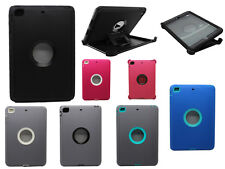 For iPad Mini 1/2/3 Defender Protective Case With Stand & Screen Protector