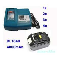 Rapid Charger for Makita DC18RA or Battery 18V 4.0Ah BL1840 LXT Li-Ion 100% NEW
