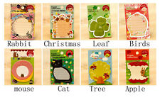 Leaf Birds mouse sticker post-it bookmark point marker memo flags sticky note gb