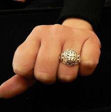 STERLING SILVER LUCKY CLOVER RING SOLID .925 /NEW NICKEL FREE JEWELRY SIZE 5-12