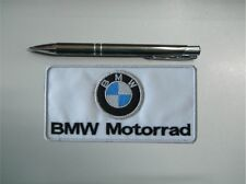 PATCH BMW MOTORRAD EMBROIDERY EMBROIDERED FUSIBLE 10 cm x 5