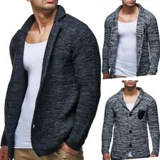 Mens knitted Cardigan pullover Sweaters Knitwear elegant (various colors)