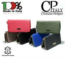 Cristiano Pompeo fashion Italy sale - 50% business saffiano leather space for 8