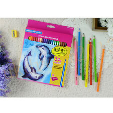 Marco 12/24/36PCS Colored Drawing Pencil With sharpener Student Non-toxic Artist
