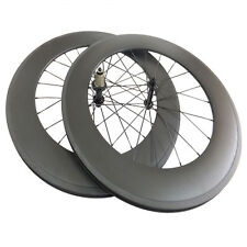 Super Light Carbon Wheelset 700C 88mm Tubular Carbon Road Bike Bicycle Wheels