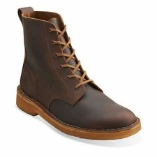 Clarks Originals Mens Desert Mali Ankle Boot Beeswax Leather Lace Up 26113253