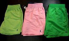 POLO RALPH LAUREN Mens Swimming Trunks Shorts Lime Green Pink size S XL XXL NEW
