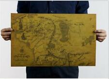 "Map of Middle Earth Lord Of The Rings - Hobbit Movie 20""x14"" Poster"
