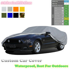 Custom  Outdoor Car Cover For Volkswagen Polo SUN UV Water Protection Oxford