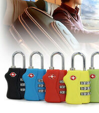 3 Digit Travel Suitcase Luggage Bag Code Lock Padlock For TSA Security 338