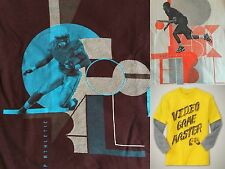 NWT Kid GAP 2 in 1 Graphic Tees T-Shirt Tee NEW Football Basketball Video Game