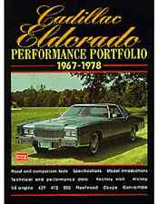 Cadillac Eldorado Performance Portfolio 1967 -1978  book  NEW