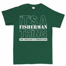 Its A Fisherman Thing Carp Fishing Rod Bait Tackle Fly New For Sea T shirt Tee
