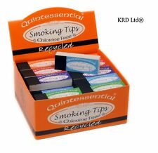 QUINTESSENTIAL RECYCLED Smoking Filter Tips Chlorine Free 50 Roaches FULL BOX