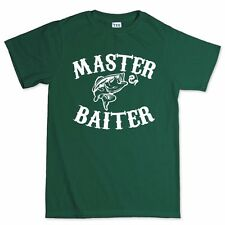 Master Baiter Funny Fishing Carp Bait Rod Tackle Fly For Sea T shirt Tee