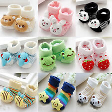 Anti-slip Warm Sock Animal Shoes Boots For 0-6 Months Newborn Girl & Boy Fashion