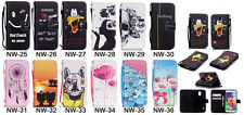 FASHION LOVELY PU LEATHER SOFT TPU WALLET HOLDER BACK CASE COVER FOR
