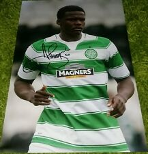 "Dedryck boyata signed 12x8"" celtic photo  COA"