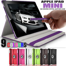 PU Leather 360 Rotating Stand Folding Swivel Case Cover for Apple iPad Mini 2 1