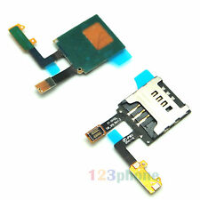 ORIGINAL SIM HOLDER SLOT TRAY FLEX CABLE RIBBON FOR SAMSUNG WAVE S8500 #F238