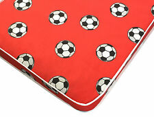Red Football Mattress, Shorty, Small Single, Single, Small Double & Double Matt