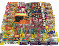 PARTY BAG FILLERS Retro Sweets Box Black Jacks  Easter lollies  love hearts