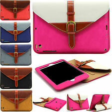 Magnetic Leather Flip 360 Rotating Stand Case Cover For iPad 2 3 4/Air/Mini 2 3
