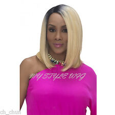 VIVICA A FOX Synthetic Deep Invisible Lace Part Wig - SANDRA