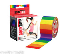 Rocktape Kinesiology Elastic Sports Tape CrossFit Many Colours Fast Shipment