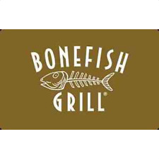 Bonefish Grill Gift Card - $25 $50 $100 - Email delivery