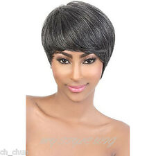 MOTOWN TRESS Human Remy Hair Wig - HR. WISH