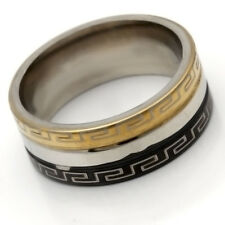 Stainless Steel Ring No Stone Mens Womens Band Ring Size 6 8 9 10 11