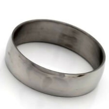 Eternity Stainless Steel Ring No Stone Mens Womens Band Ring Size 7 8 9 10 11