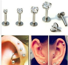 New Round Monroe Tragus Lip Ring Piercing Earring Cartilage Stud Body Piercing