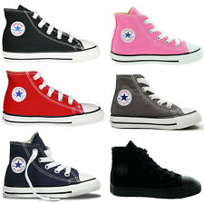 Converse Toddlers Infants Hi Top  Shoes Trainers UK Size 2 3 4 5 6 7 8 9 10